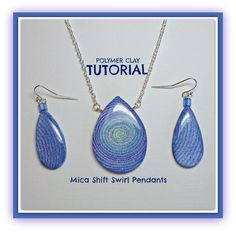 Tutorial Extruded Polymer Clay Mica Shift Swirl por BeadazzleMe