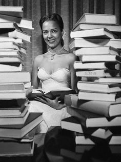 Dorothy Jean Dandridge (November 9, 1922 – September 8, 1965) was an American actress and popular singer, and was the first African-American to be nominated for an Academy Award for Best Actress.  She performed as a vocalist in venues such as the Cotton Club and the Apollo Theater. Photo from 1951.