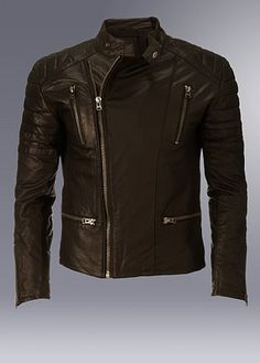Firetrap Duk Leather Jacket