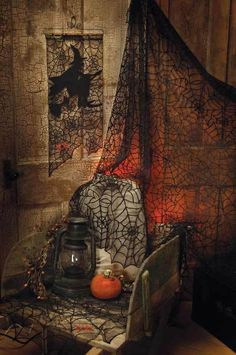 Cobweb Lace for Halloween Victorian Trading Company