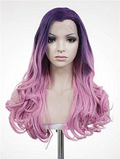 Purple Wig Amazon August 2017