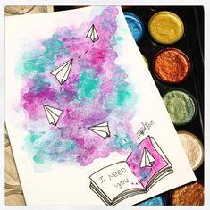 Bildergebnis für die Aquarelle - Makeup For Eyes Galaxy Painting, Galaxy Art, Mandala Art, Art Drawings Sketches, Easy Drawings, Doodle Art, Watercolor Paintings, Watercolour, Watercolor Mandala