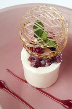 Our Head Chef's FABULOUS dessert presentation