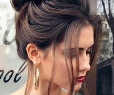 Bridal Hairstyles With Braids, Bridal Hair Buns, Low Bun Hairstyles, Wedding Guest Hairstyles, Bride Hairstyles, Sleek Hair Updo, Sleek Ponytail, Chignon Bun, Chignon Wedding
