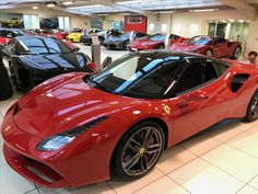 488 GTB rouge et noire