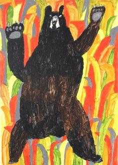 Japanese artist - bear