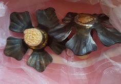 PALM TORCHES, PAIR - KEVLAR BELLY DANCE FIRE CANDLE POI STAFF CIRCUS BURLESQUE #custom