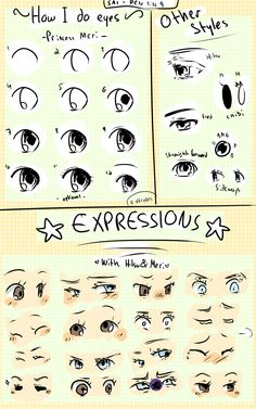 Eye and Expression Tutorial by Maari-Erein.deviantart.com on @DeviantArt