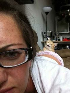 Cats don't give a shit about looking murderously creepy.