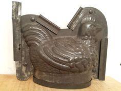Chocolate Mold Sitting Hen Chicken Schokoladen Form Nickel Aluminum 15 #SCHOKOLADENFORM