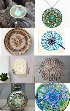 Mandala art -  a microcosm of the universe. by Alexandra Balau on Etsy--Pinned with TreasuryPin.com