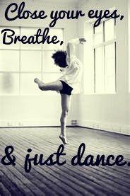 the best advice a dance teacher can give you!