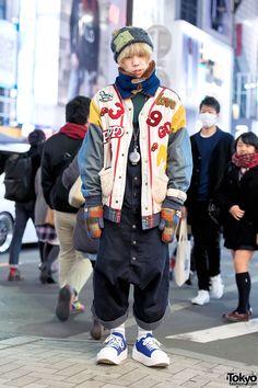 22-year-old Shizuru on the street in Harajuku... | Tokyo Fashion
