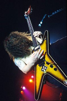 Dimebag Darrell Pantera by Kristin Callahan, Metal On Metal, Heavy Metal Music, Heavy Metal Bands, Pantera Band, Best Guitar Players, Dimebag Darrell, Band Wallpapers, Heavy Rock, Guitar Collection