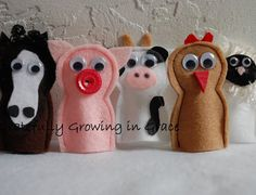 Make Finger Puppets