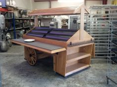 Portable Produce Cart by Marco Company