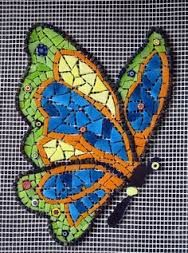 Image result for butterfly mosaic designs