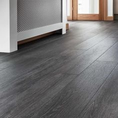 Choose our Quickstep Livyn silk oak dark grey vinyl flooring and give your home . - Choose our Quickstep Livyn silk oak dark grey vinyl flooring and give your home a clean, smooth loo - Dark Grey Laminate Flooring, Vinyl Flooring Kitchen, Luxury Vinyl Flooring, Living Room Vinyl Flooring, White Flooring, Garage Flooring, Farmhouse Flooring, Brick Flooring, Rubber Flooring