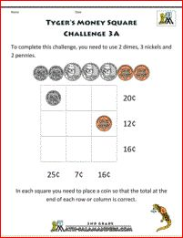 Fun Math Challenges Worksheets In Addition Worksheet On 3d Shapes In ...