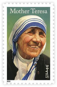 Mother Teresa   Stamp Issue   USA Philatelic