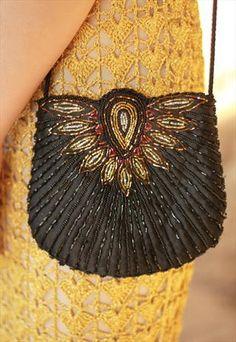 Art Deco Inspired Beaded Bag