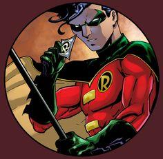 Robin by ~GreeneLantern on deviantART