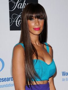 Leona Lewis' New Bangs Hairstyle: Are We In Love? In Like? Less?