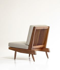 Nakashima Spindle Back Lounge Chair