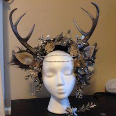 My #faun #headdress for #loj2016  #fauncosplay #antlers #costume #cosplay…