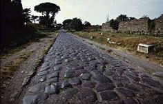 Via Apia, years old Roman road from Rome to Greece Ancient Rome, Ancient Greece, Ancient History, Appian Way, Roman Roads, Roman Republic, Hills And Valleys, Roman History, Back Road