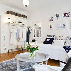 How To Decorate A Studio Apartment Studio Apartment Footprints