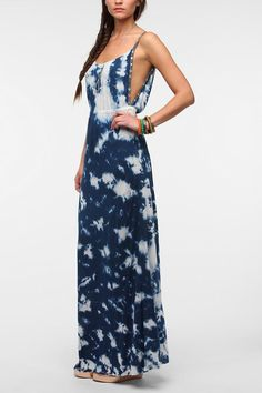 Ecote Carved Out Maxi Dress #urbanoutfitters