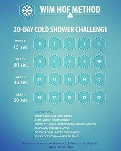 Wim Hof Challenge. 20 day cold shower reboot to start 2017. #wimhof #cold #getafterit #alwaysimproving