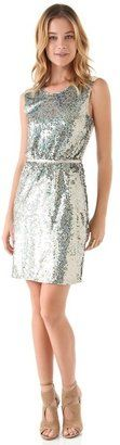 One by erin fetherston Sequined Sheath Dress Erin Fetherston