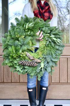 Deck the Halls with Lynch Creek Farm French Farmhouse Decor, Modern Farmhouse, Elf Dance, Holiday Wreaths, Holiday Decor, Winter Decorations, Her Cut, Deck The Halls, Merry And Bright