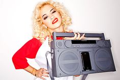 Rita Ora's Boombox giveaway! Don't forget to sign up to win it - a personalized picture on the next pin!