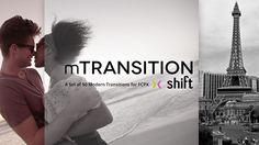 mTransition Shift FCPX Plugin www.motionvfx.com/B4284 #FCPX #FinalCutProX #VideoEditing #Apple #MakeYourLifeEasier