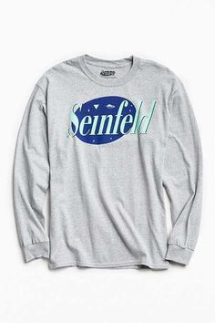 Seinfeld Logo Long Sleeve Tee