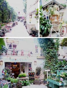 Uno de los más bonitos y originales cafés en Madrid. El Jardín Secreto ☺ Más