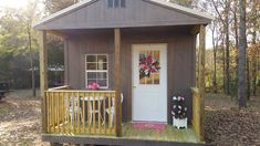 "PINK DOOR CRAFTS ""Rose Cottage"""