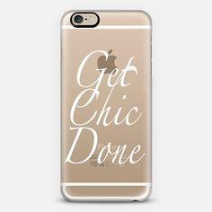 Get Chic Done by Charlotte Bishop | @casetify