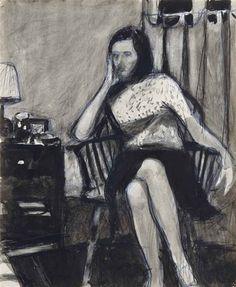 Richard Diebenkorn - Sans titre, circa 1965-1967,...