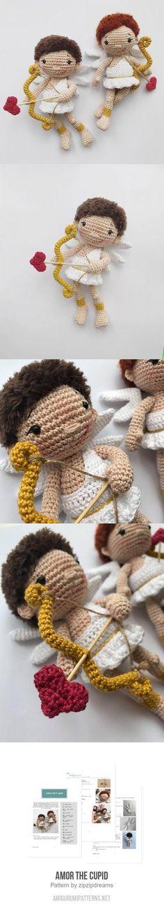 Amor The Cupid Amigurumi Pattern