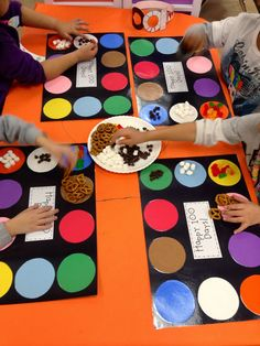 100th Day of School!! Love the reusable sorting mats