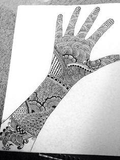 Mehndi Henna Designs On Paper, Henna Tattoo Designs Arm, Mehndi Designs For Kids, Indian Mehndi Designs, Mehndi Designs Book, Mehndi Design Pictures, Mehndi Designs For Beginners, New Bridal Mehndi Designs, Henna Designs Easy