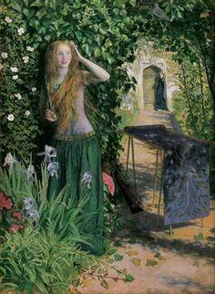 Fair Rosamund (1854), Arthur Hughes
