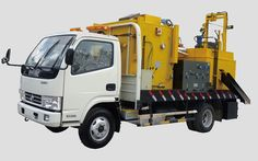 Fully functional road maintenance machinery