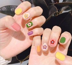 Cute Nail Designs for Every Nail - Nail Art Ideas to Try. No matter the occasion, try one of the 50 cute nail designs below Cute Nail Designs for Every Nail - Nail Art Ideas to Try. No matter the occasion, try one of the 50 cute nail designs below Cute Acrylic Nails, Cute Nails, Pretty Nails, Korean Nail Art, Korean Nails, Minimalist Nails, Nail Swag, Hair And Nails, My Nails