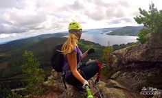 Via Ferrata Sweden – ©Liss Outdoors Explore #climb #outdoor #klättring #viaferrata #skuleberget @högakusten
