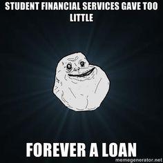 Last financial aid joke we swear! #usfhousing
